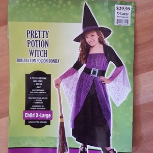 Pretty Potion Witch Costume Sz X-L